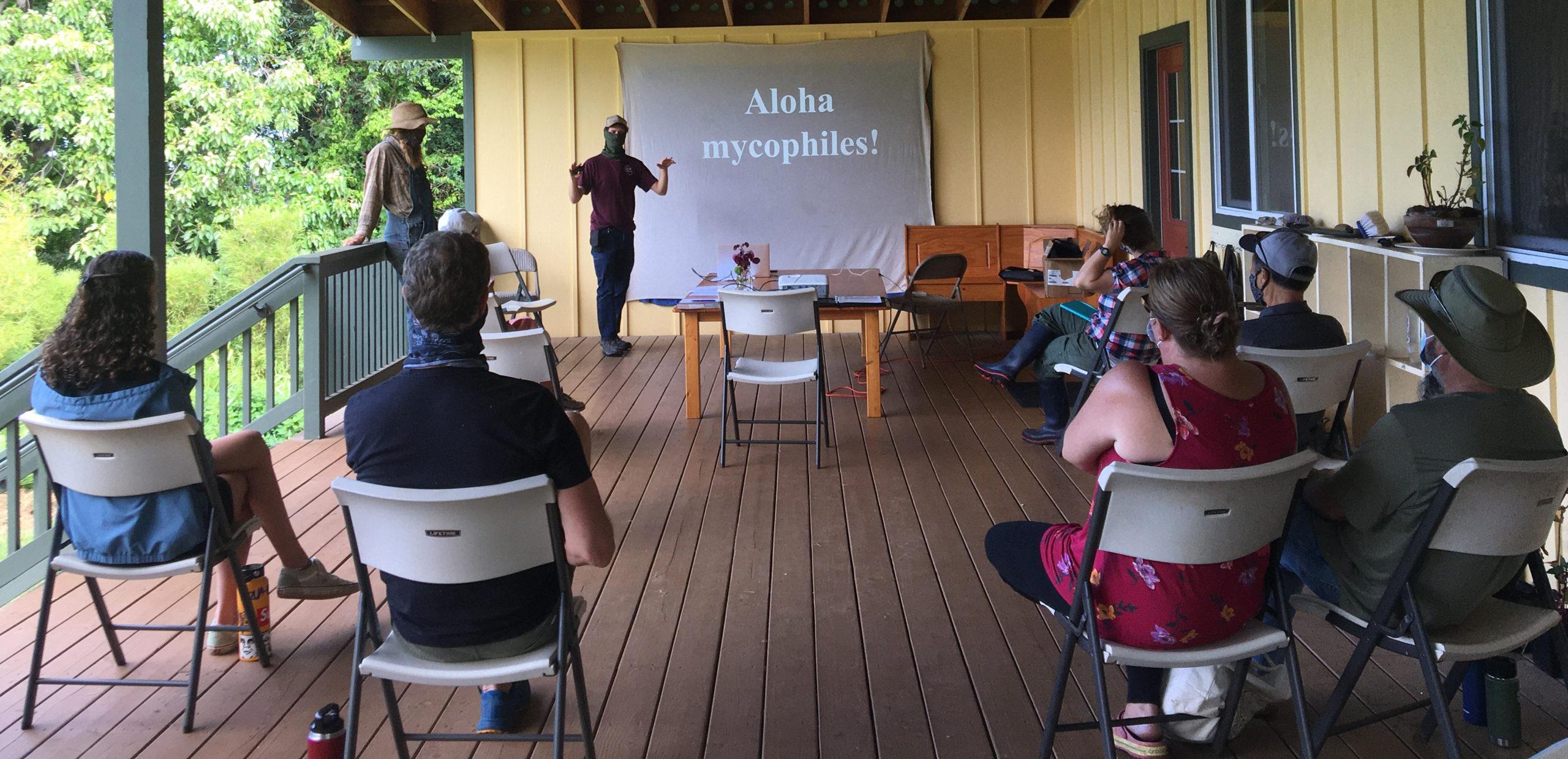 teaching mushroom workshop